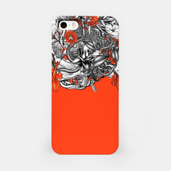 Miniatur Flower Power Orange iPhone Case, Live Heroes