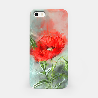Miniatur Red Poppy iPhone Case, Live Heroes