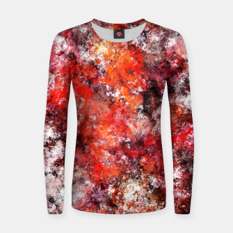 Thumbnail image of The red sea foam Women sweater, Live Heroes