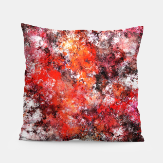 Thumbnail image of The red sea foam Pillow, Live Heroes