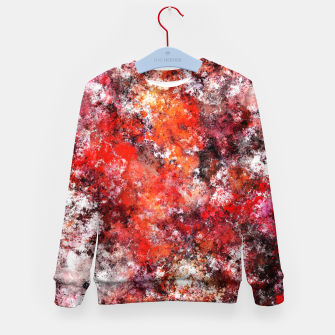 Thumbnail image of The red sea foam Kid's sweater, Live Heroes