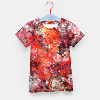 Thumbnail image of The red sea foam Kid's t-shirt, Live Heroes