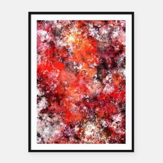 Thumbnail image of The red sea foam Framed poster, Live Heroes