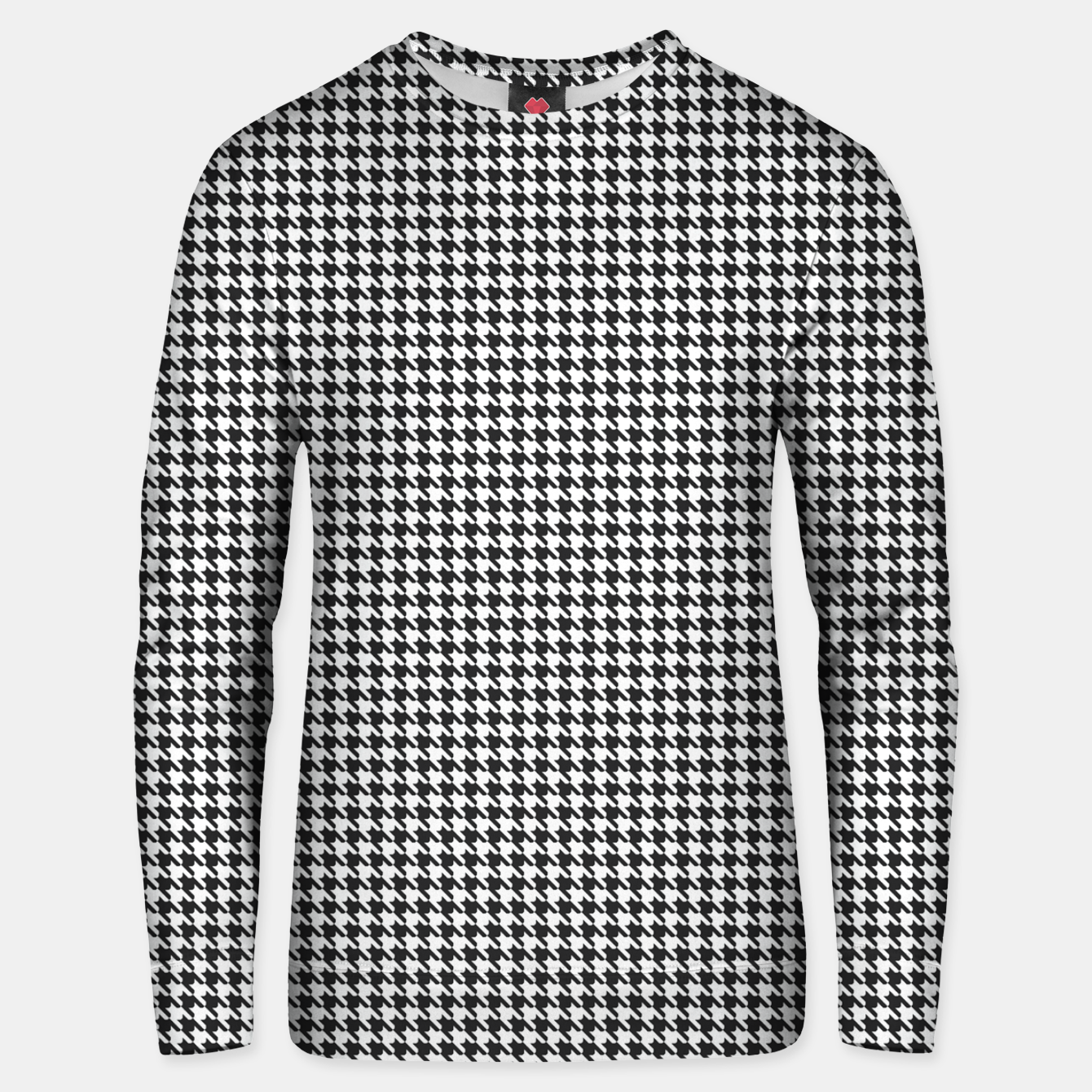 Foto Dogtooth pattern Unisex sweater - Live Heroes