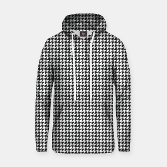 Thumbnail image of Dogtooth pattern Hoodie, Live Heroes
