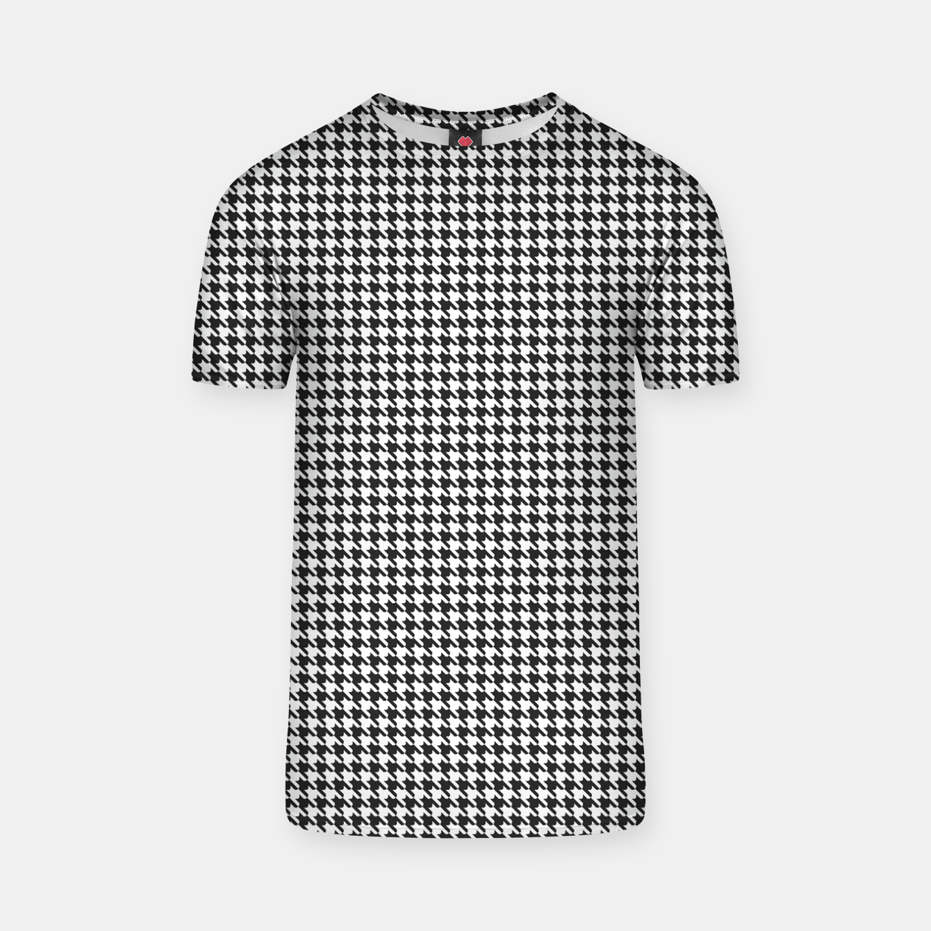 Image of Dogtooth pattern T-shirt - Live Heroes