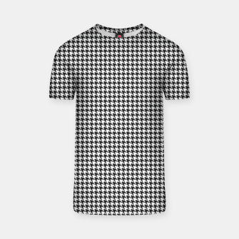 Thumbnail image of Dogtooth pattern T-shirt, Live Heroes