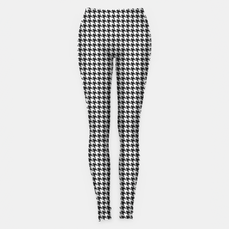 Dogtooth pattern Leggings Bild der Miniatur