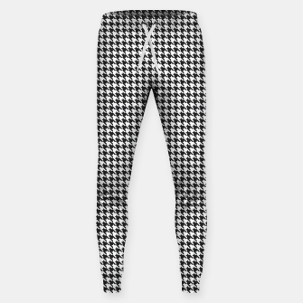 Dogtooth pattern Sweatpants Bild der Miniatur