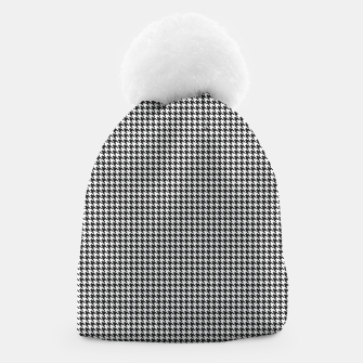 Thumbnail image of Dogtooth pattern Beanie, Live Heroes