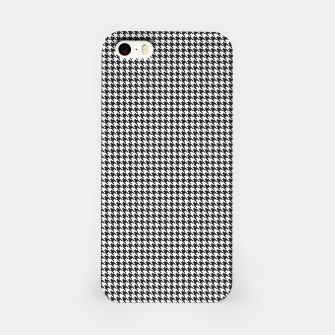 Miniatur Dogtooth pattern iPhone Case, Live Heroes