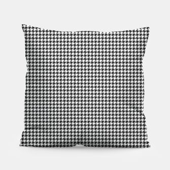 Miniatur Dogtooth pattern Pillow, Live Heroes