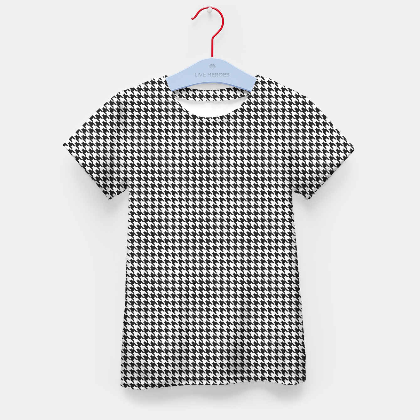 Image of Dogtooth pattern Kid's t-shirt - Live Heroes