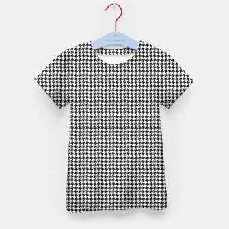 Thumbnail image of Dogtooth pattern Kid's t-shirt, Live Heroes
