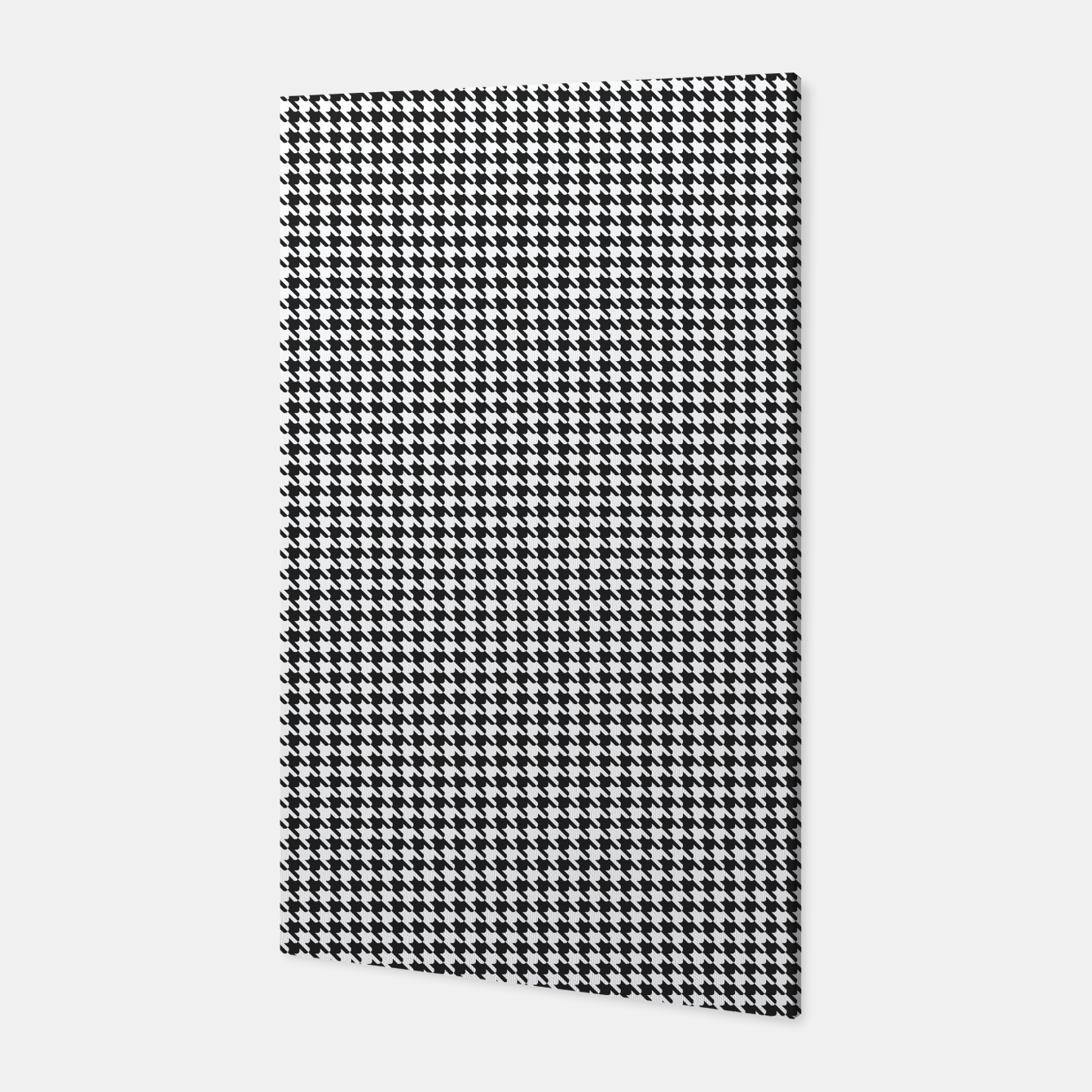Foto Dogtooth pattern Canvas - Live Heroes