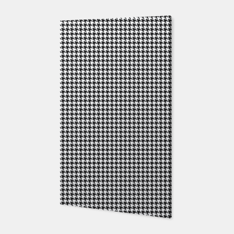 Dogtooth pattern Canvas Bild der Miniatur