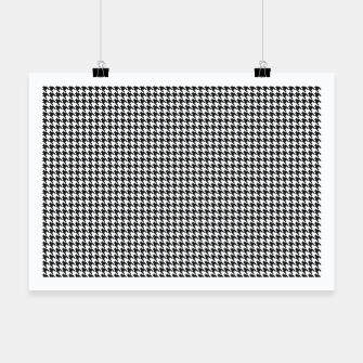 Thumbnail image of Dogtooth pattern Poster, Live Heroes