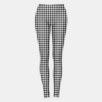 Thumbnail image of Dogtooth pattern Leggings, Live Heroes