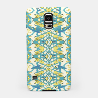 Miniatur Colored Geometric Ornate Patterned Print Samsung Case, Live Heroes