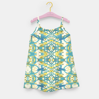 Thumbnail image of Colored Geometric Ornate Patterned Print Girl's dress, Live Heroes