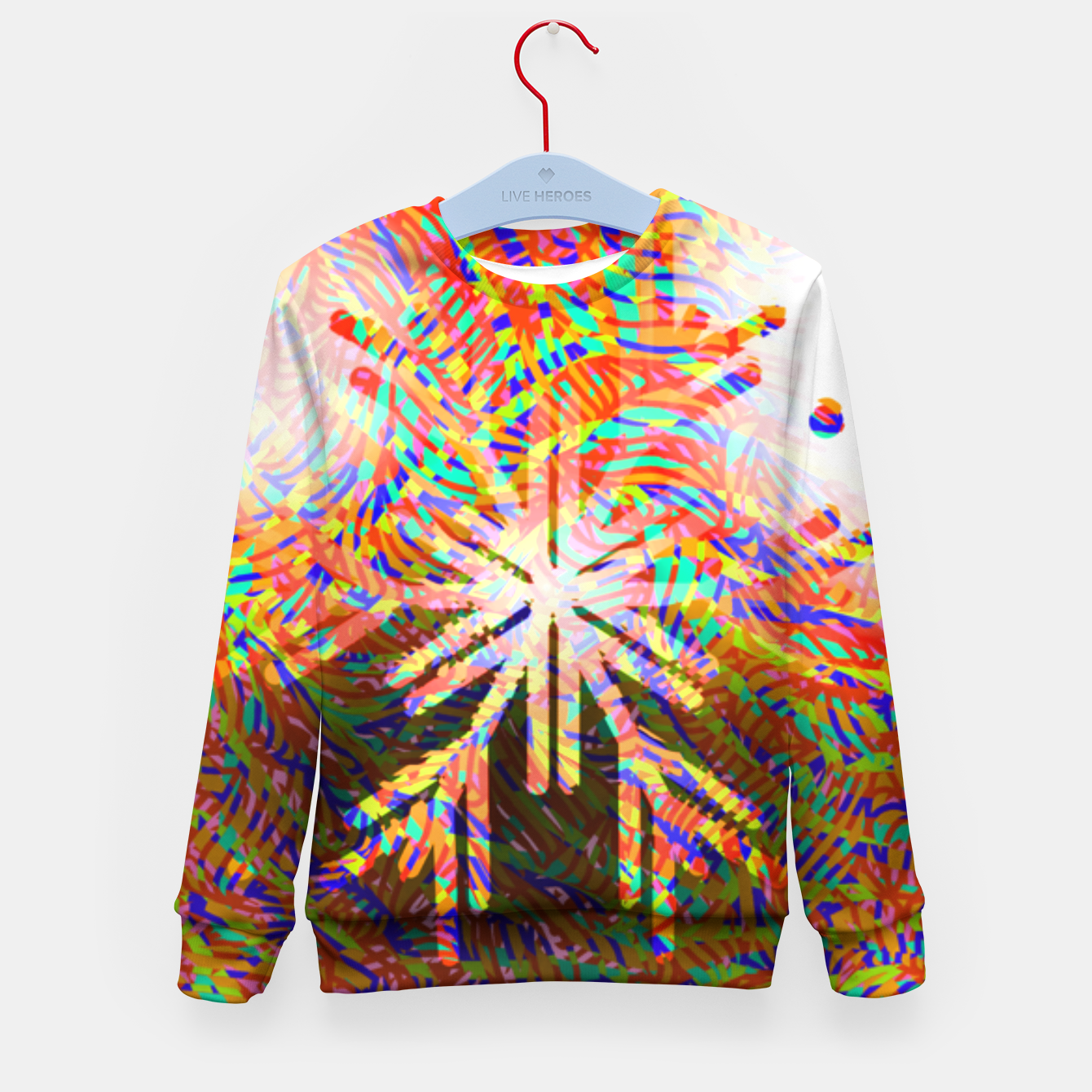 Image of X-mas Kid's sweater - Live Heroes
