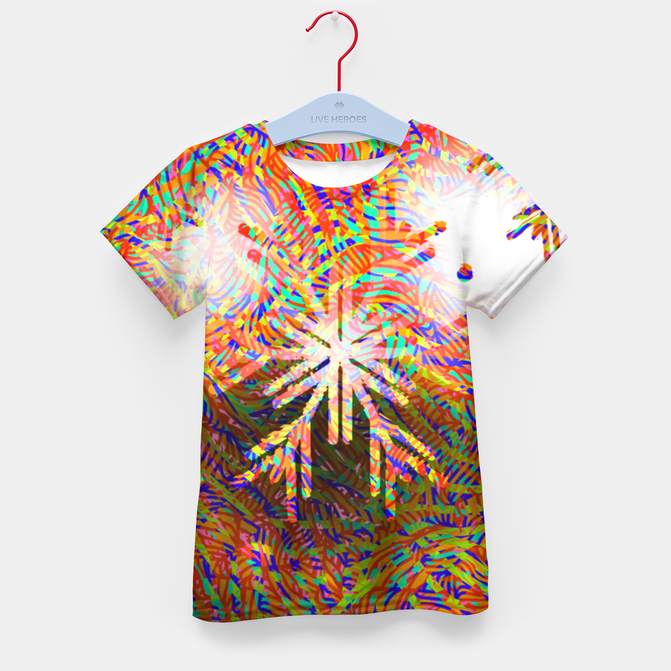 Image of X-mas Kid's t-shirt - Live Heroes
