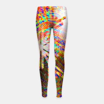 Thumbnail image of X-mas Girl's leggings, Live Heroes