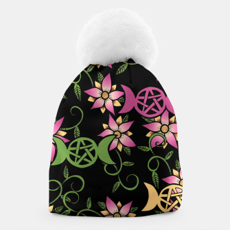 Thumbnail image of Triple Moon Green Witch Beanie, Live Heroes
