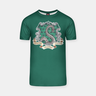 Thumbnail image of Cunning Folk Use Any Means ~ Slytherin T-shirt, Live Heroes