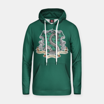 Thumbnail image of Cunning Folk Use Any Means ~ Slytherin Hoodie, Live Heroes
