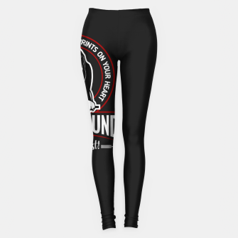 BASSET HOUND - You are The Best ! Leggings thumbnail image