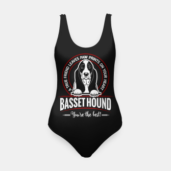 BASSET HOUND - You are The Best ! Swimsuit thumbnail image