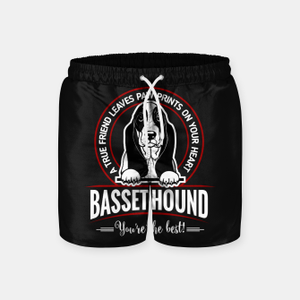 BASSET HOUND - You are The Best ! Swim Shorts thumbnail image