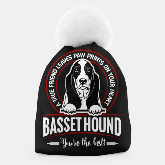 BASSET HOUND - You are The Best ! Beanie thumbnail image
