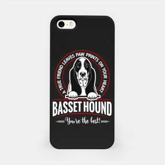 BASSET HOUND - You are The Best ! iPhone Case thumbnail image