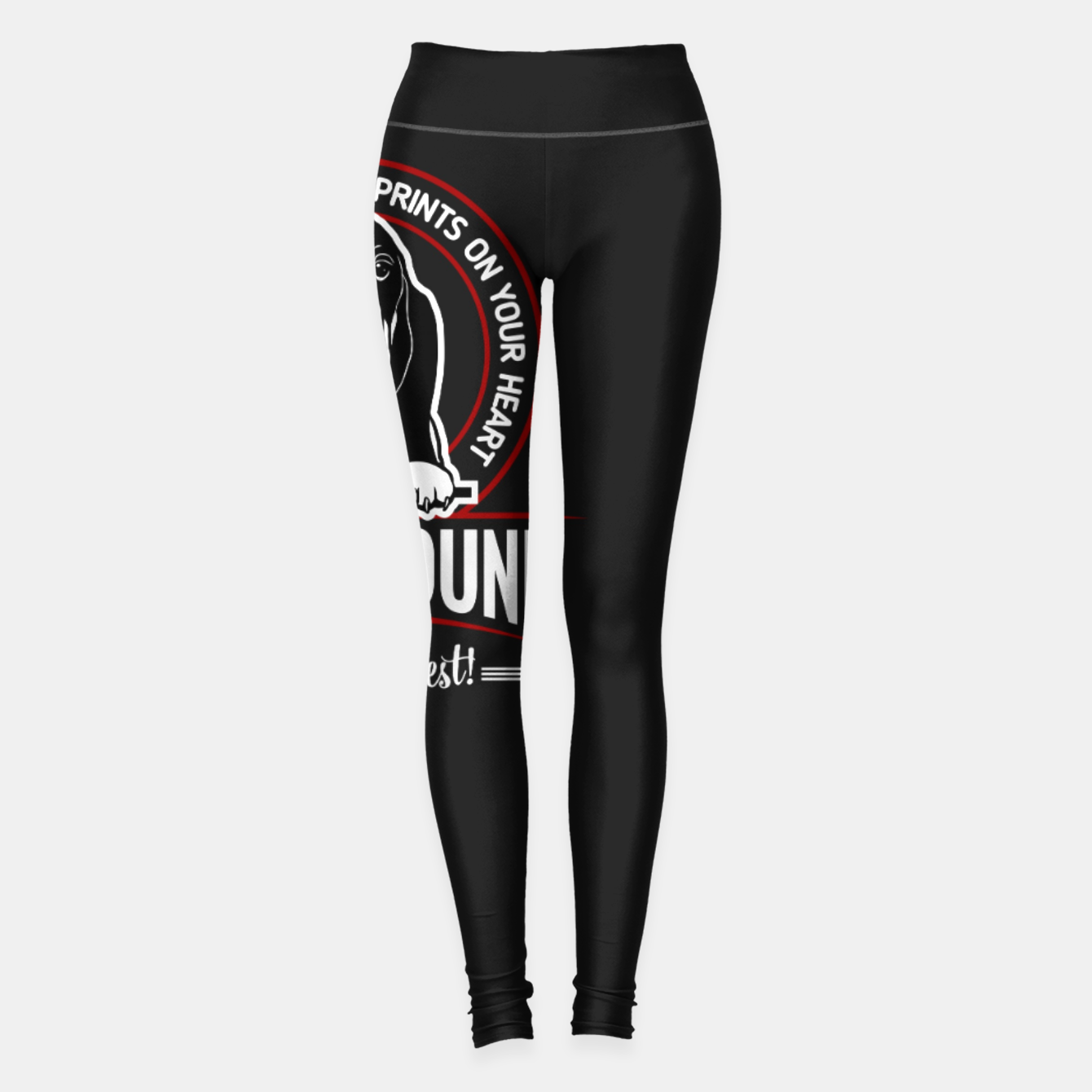 Image of BASSET HOUND - You are The Best ! Leggings - Live Heroes