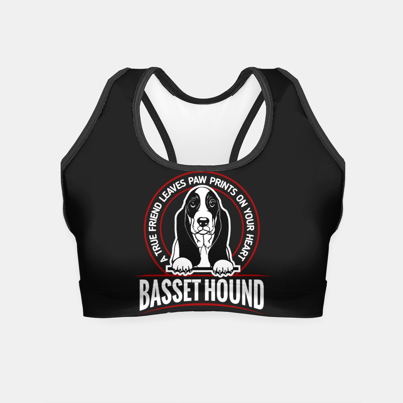 Image of BASSET HOUND - You are The Best ! Crop Top - Live Heroes