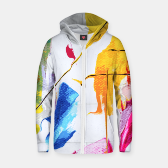 Thumbnail image of Endless Abstract Zip up hoodie, Live Heroes