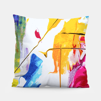 Thumbnail image of Endless Abstract Pillow, Live Heroes
