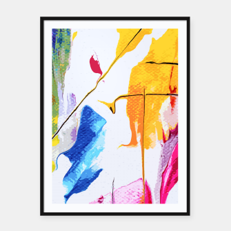 Thumbnail image of Endless Abstract Framed poster, Live Heroes