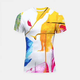 Thumbnail image of Endless Abstract Shortsleeve rashguard, Live Heroes