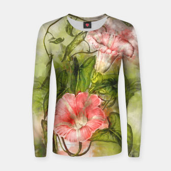 Thumbnail image of Blossom Pink Women sweater, Live Heroes