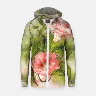 Thumbnail image of Blossom Pink Zip up hoodie, Live Heroes