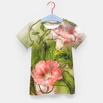 Thumbnail image of Blossom Pink Kid's t-shirt, Live Heroes