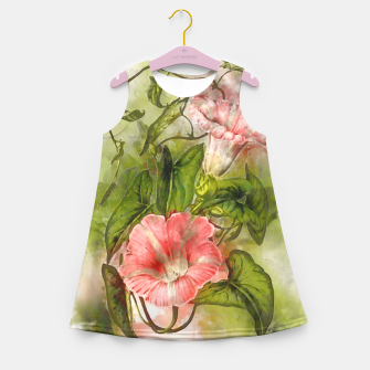 Miniatur Blossom Pink Girl's summer dress, Live Heroes