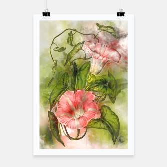 Thumbnail image of Blossom Pink Poster, Live Heroes