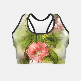 Thumbnail image of Blossom Pink Crop Top, Live Heroes