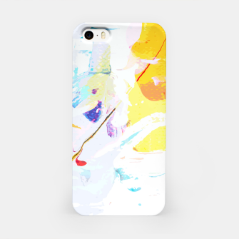 Miniatur Yellow Modern Abstract iPhone Case, Live Heroes
