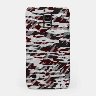 Thumbnail image of Red Camouflage Pattern Mosaic Style Handyhülle für Samsung, Live Heroes