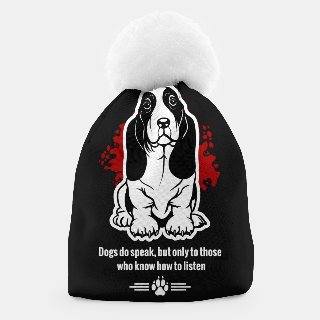 Image of BASSET HOUND - The Special Dog Ever! Beanie - Live Heroes